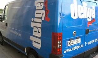 Rotulación de vehículos :: Deligel
