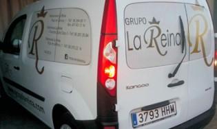Rotulación vehículos: coches y furgonetas