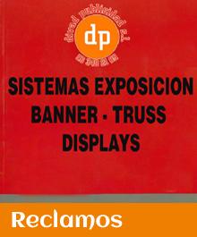 Catálogo de sistemas de exposición, banner, truss y displays