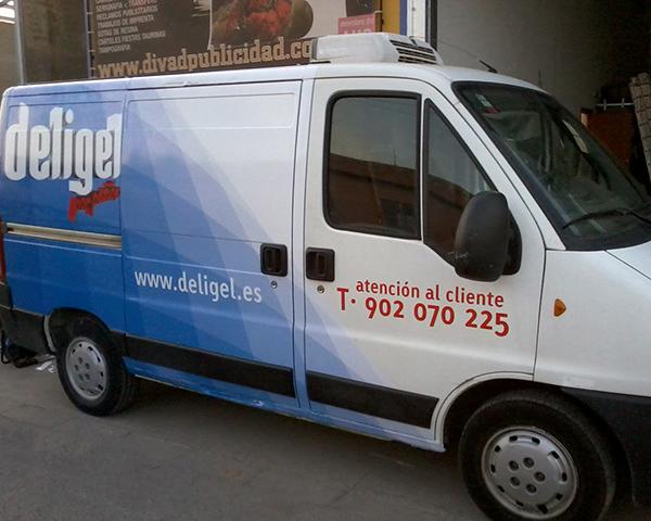 Rotulación de vehículos Valencia :: Deligel