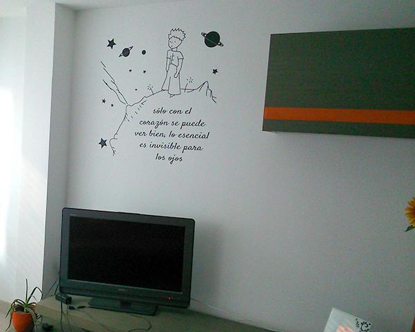 Vinilo el principito divad publicidad - Vinilo para la pared ...